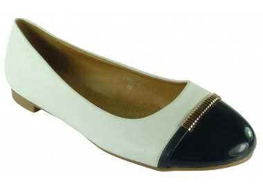 chaussures grande taille blanc