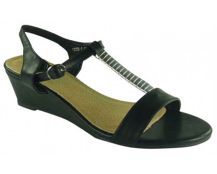 chaussures grande taille noir