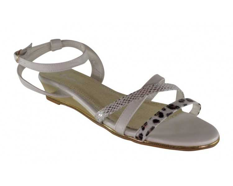 chaussures femme blanc