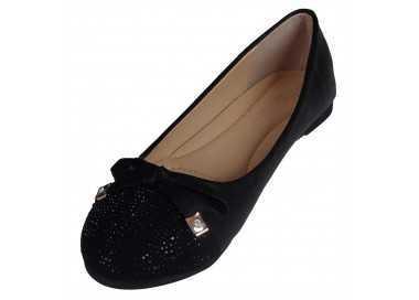 Ballerine noire Amaya