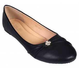 Ballerine noire confort Albane