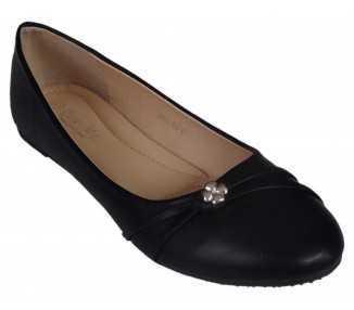 Ballerine noire Albane