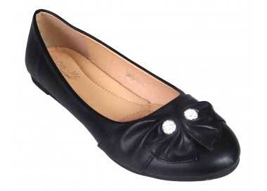 Ballerine noire Abby