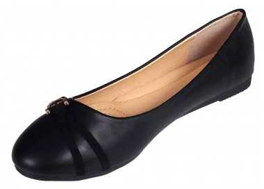 Ballerine noire Alexina