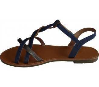 Sandale-femme-grande-taille-bleu