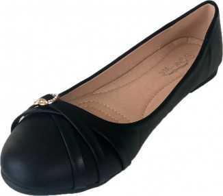 Ballerine noire Gardénia