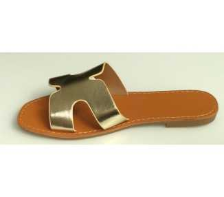 Sandales mules GOLD