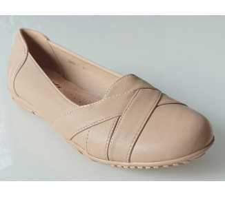 Chaussures confort beige