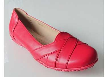 Chaussures confort rouge