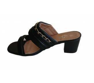 sandale à talon grande taille