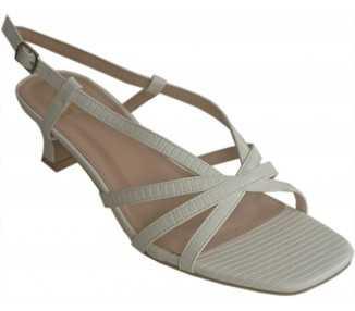 sandales-petit-talon-blanche